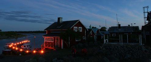 Lyskvällen Söderhamns skärgård