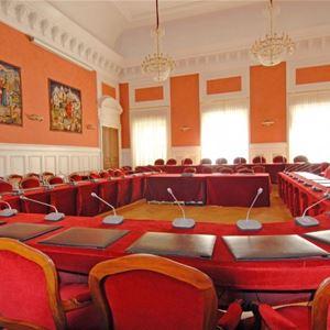 La salle des délibérations du Conseil Départemental