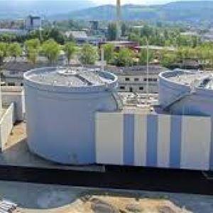 Usine de dépollution des eaux usées