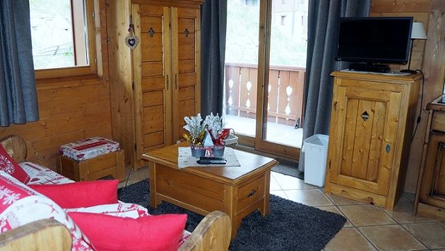3 Rooms 6 Pers ski-in ski-out / ALPAGE DE REBERTY 20