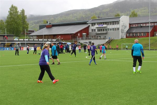 Championship in football for Kindergarten