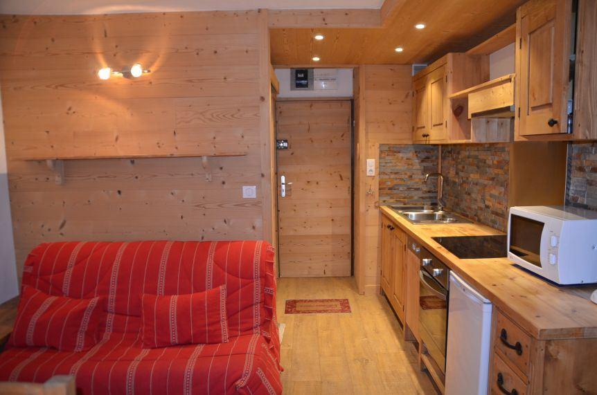 2 Pièces cabine 4 Pers skis aux pieds / ARAVIS 111