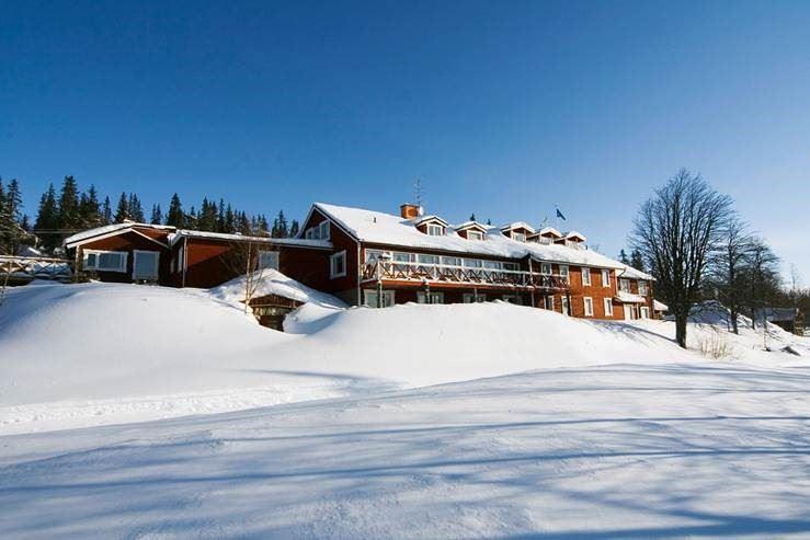 Lövåsgården Fjällhotell, Lövåsgårdens Fjällhotell
