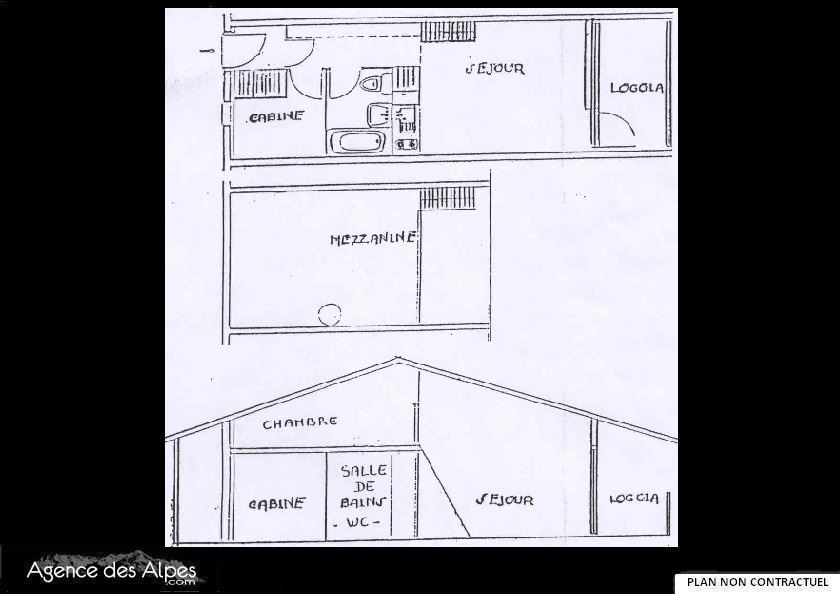 2 Rooms 6 Pers 150m from the slope / ASTERS 301
