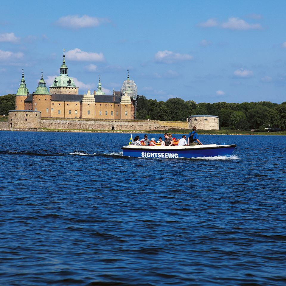 The Kalmarflundran sightseeing boat