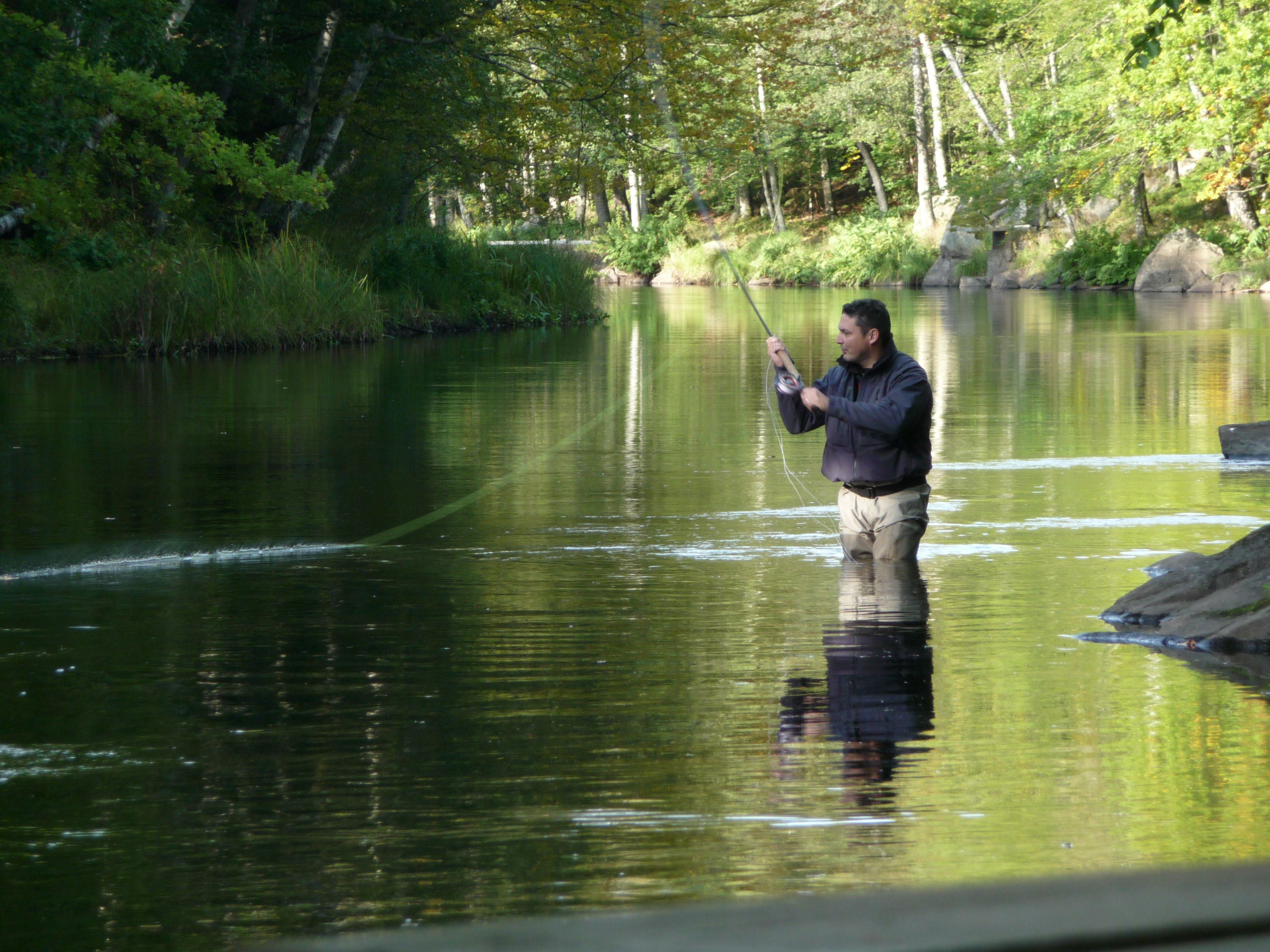 Salmon fishing season starts in Mörrum