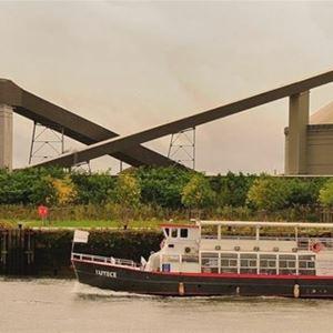 Visite du port de Rouen à bord du Lutèce