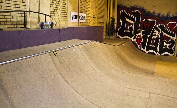 Skateboard i Söderhamn