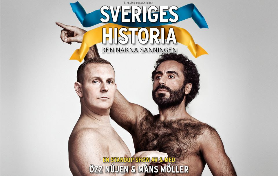 Özz Nûjen & Måns Möller – Sveriges historia
