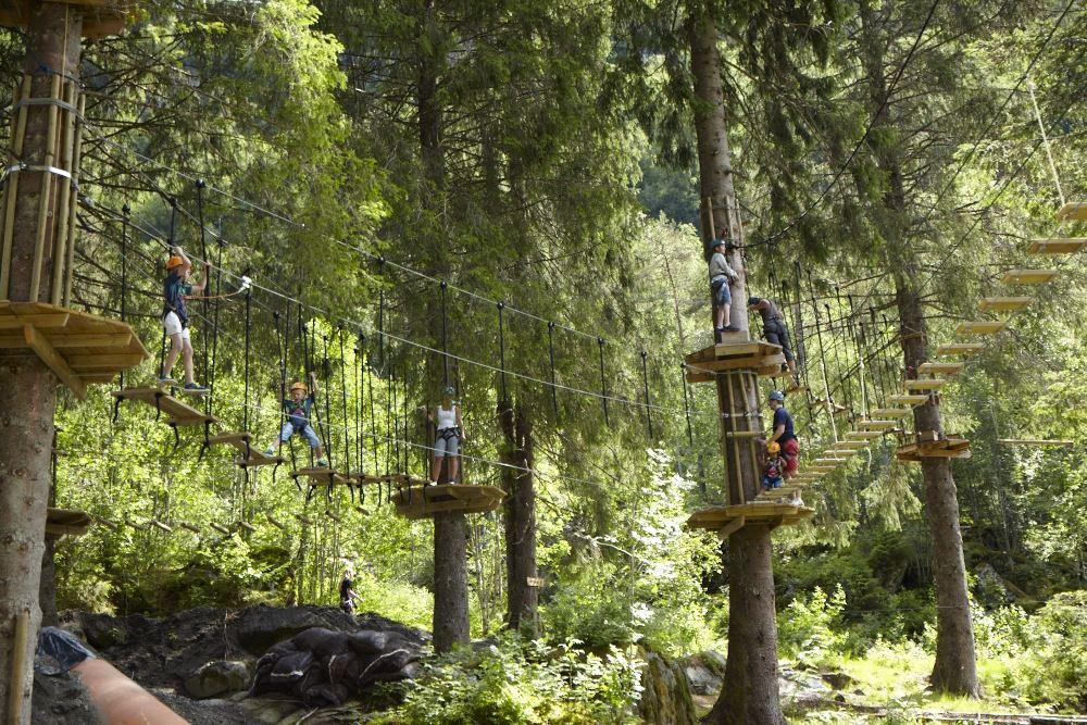 Photo: Kyrre Wangen, Voss High Ropes Course