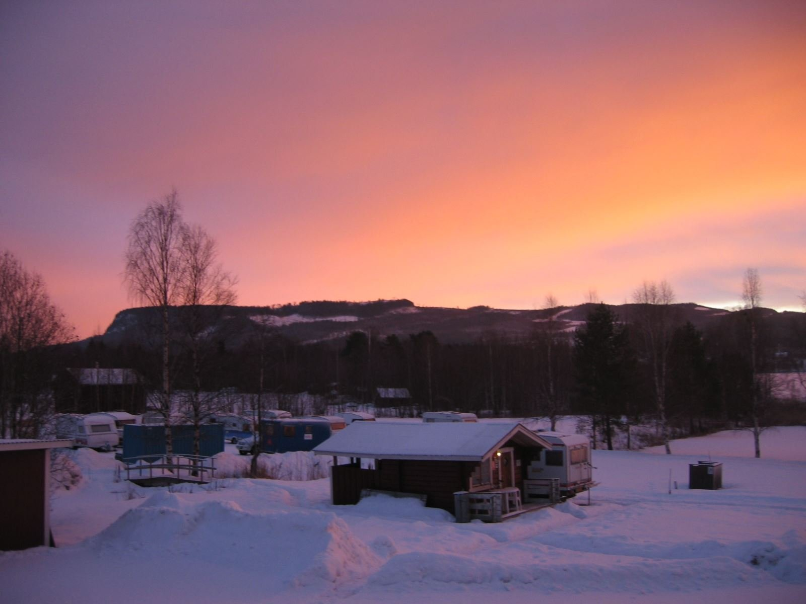 Träporten Camping/Stugor