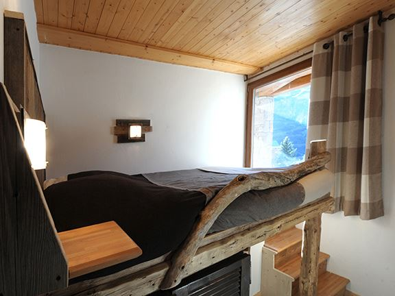 3 Rooms 5 Pers Studio ski-in ski-out / ADRET 1