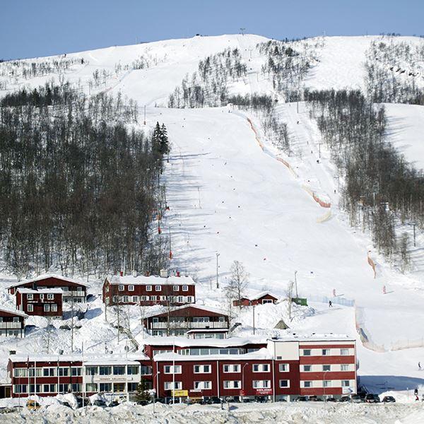 Panoramabastu på Tärnaby Fjällhotell