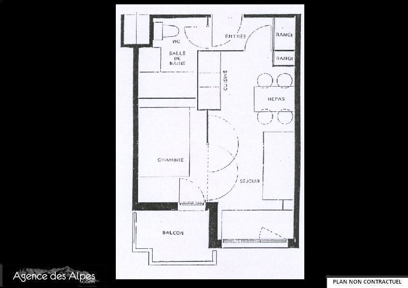 2 Rooms 4 Pers 150m from the slope / MEDIAN 618
