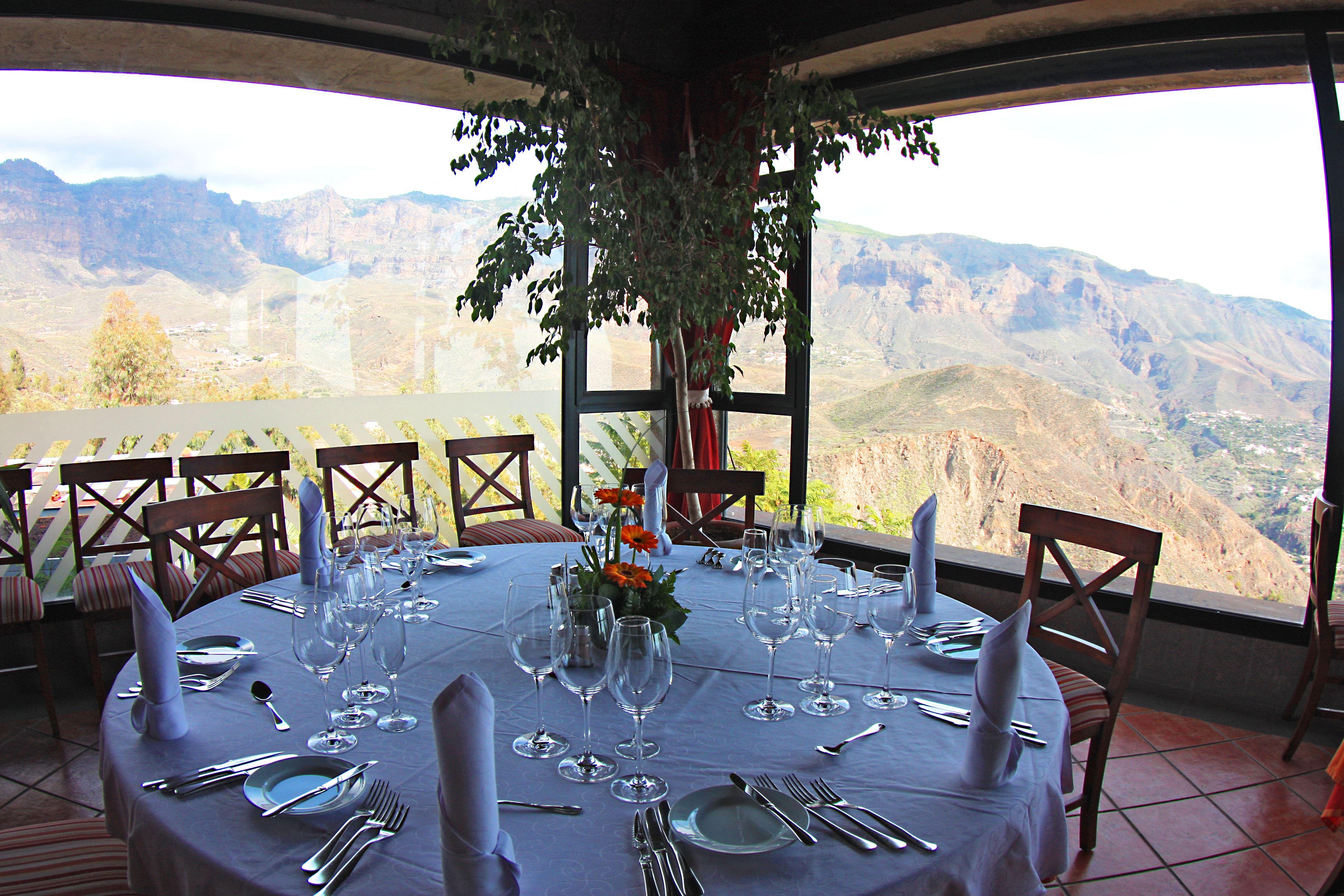 Restaurang med utsikt Hotell Las Tirajanas, Las Palmas Gran Canaria
