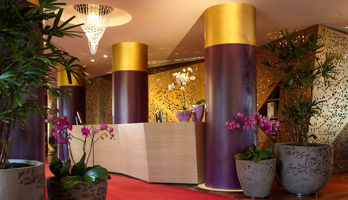 Lobbyn på Hotell Bohemia Suites&Spa, Playa del Inlgés Gran Canaria