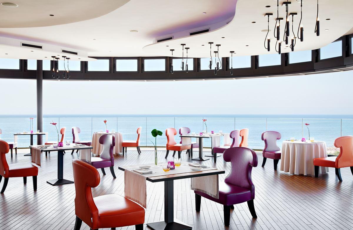 Restaurang på Hotell Bohemia Suites&Spa, Playa del Inlgés Gran Canaria