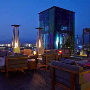 Takterass Hotell Bohemia Suites&Spa, Playa del Inlgés Gran Canaria