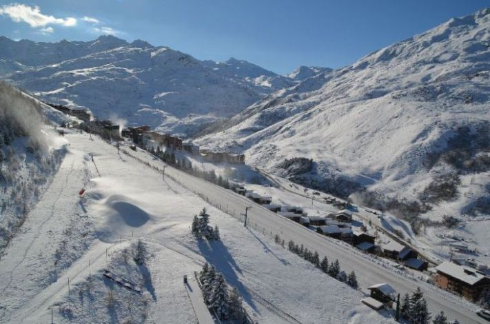 Studio 3 Pers skis aux pieds / DORONS 1304