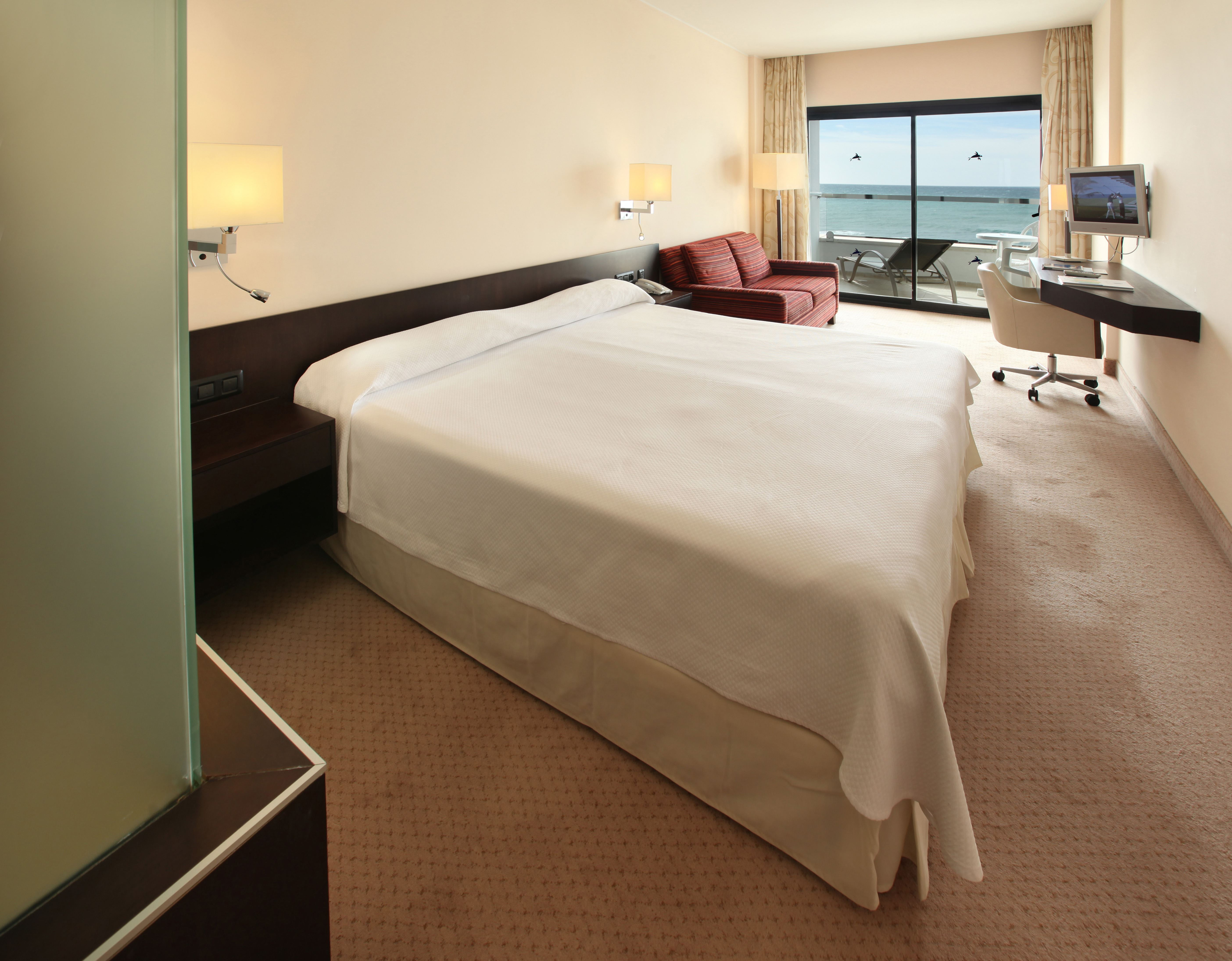 Dubbelrum med havsutsikt IIFA Faro Hotell, Maspalomas Gran Canaria, Signaturresor