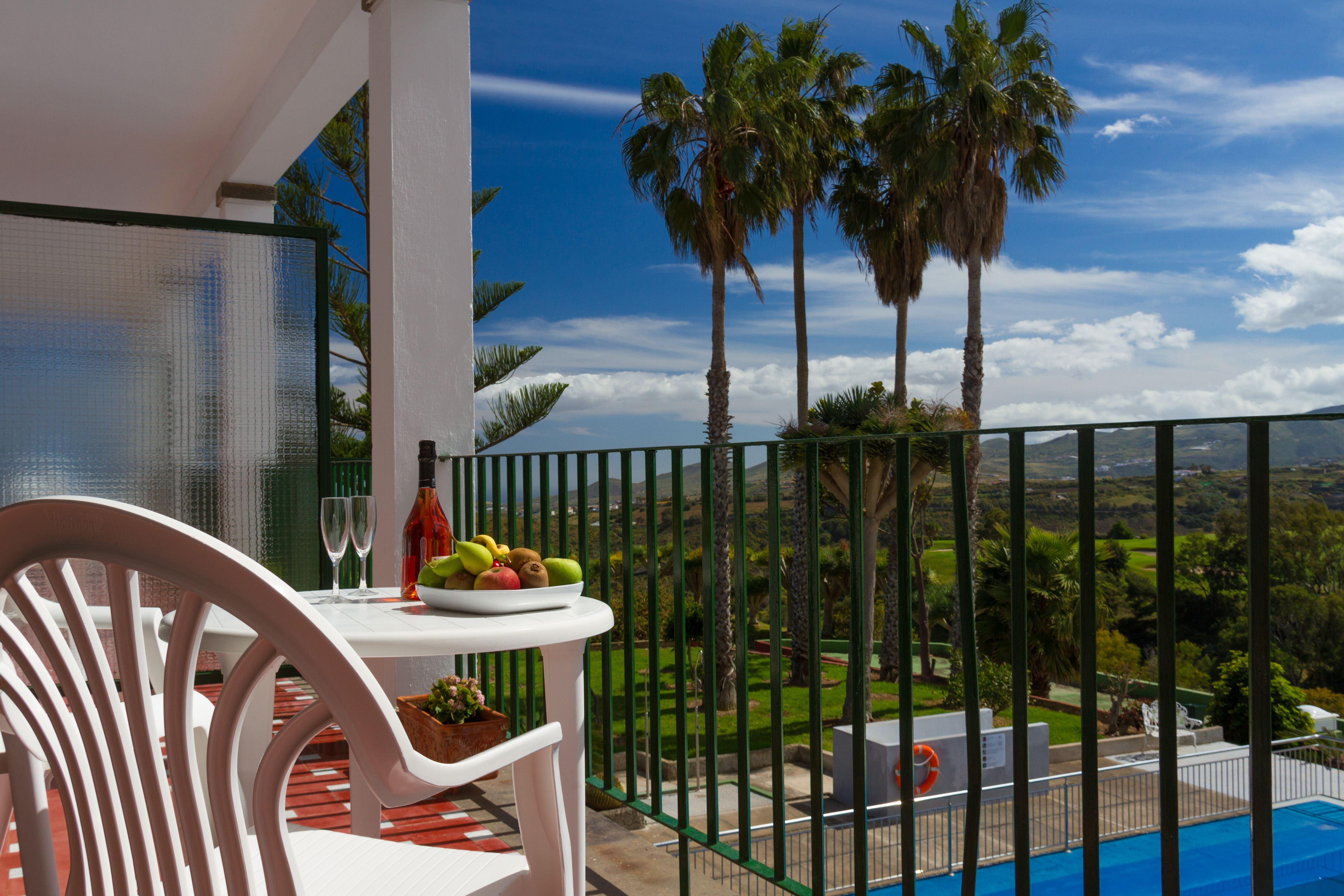Balkong på Bandama Golf Hotell, Santa Brigida Gran Canaria