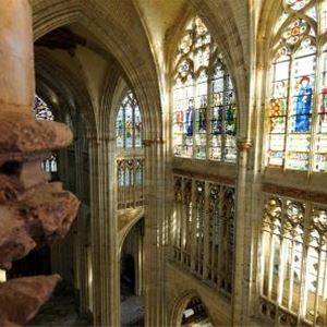 L'abbaye ne fait pas le moine, St Ouen et ses jardins !