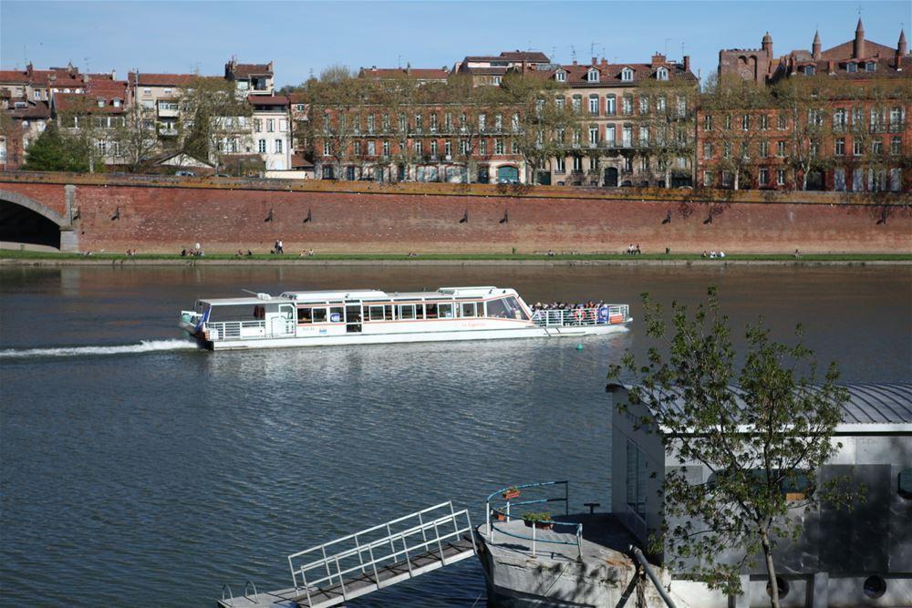 Kreuzfahrt mit den Bateaux Toulousains
