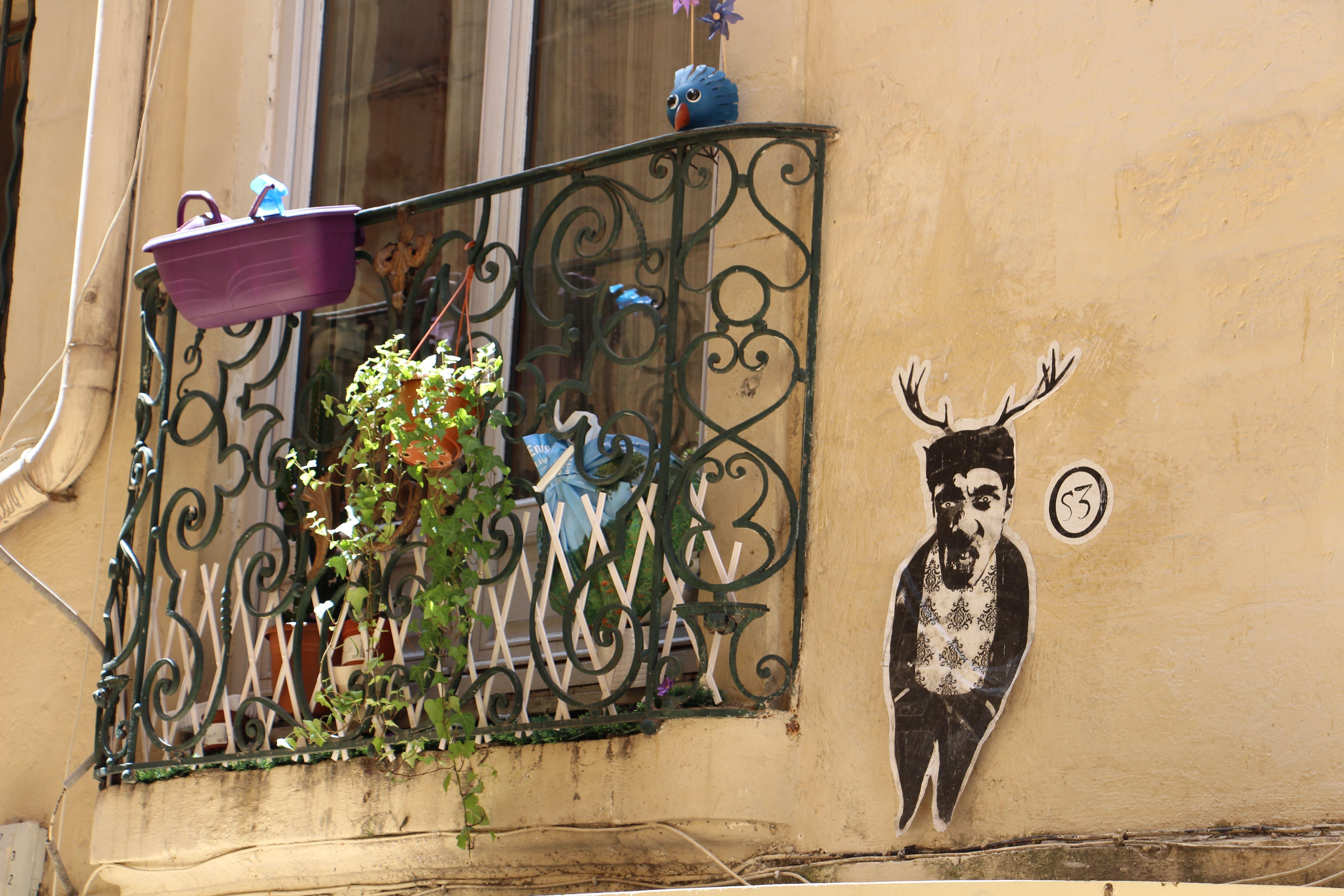 Quai du Verdanson : Temple du Graffiti