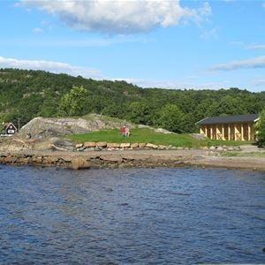 Många kommer till Gustafsberg för lugnet eller för att bara sitta och titta och njuta en stund.
