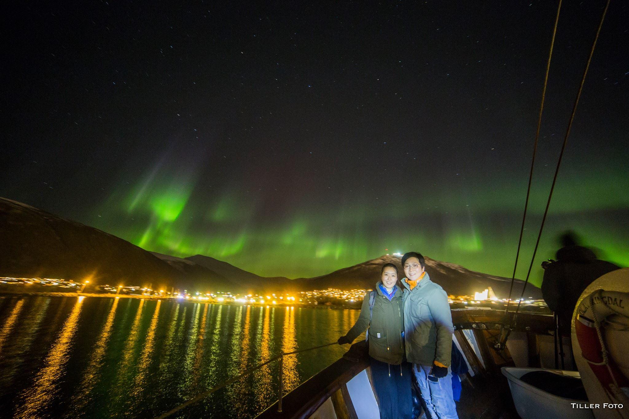 Nordlyscruise med verdens minste cruise båt – Northern Sea Adventure