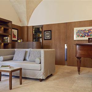 Pianosal på Hotell Can Faustino, Ciutadella Menorca