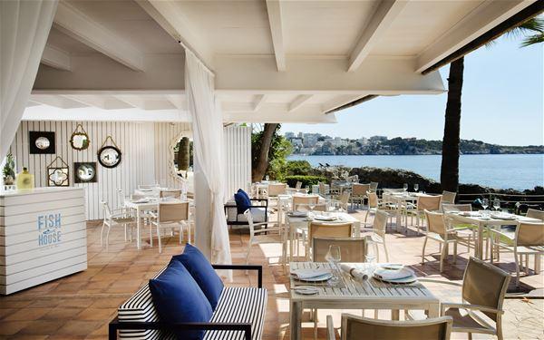 Fish House på Hotell Gran Melia de Mar, Illetas Mallorca