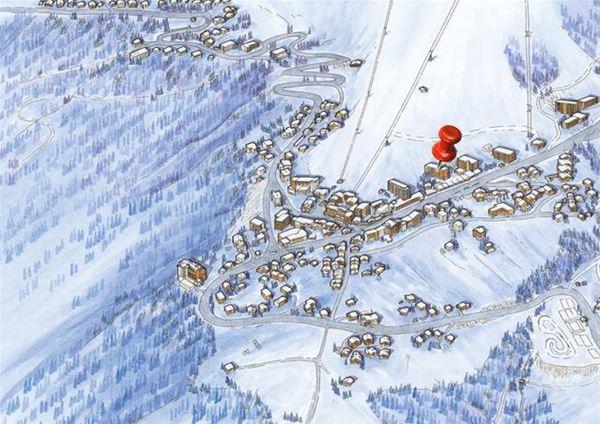 3 pièces 6 personnes skis aux pieds / OURSE BLEUE 405 (Montagne de Charme) / Séjour Sérénité