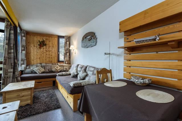 4 Pers Studio ski-in ski-out / CHANTENEIGE 702