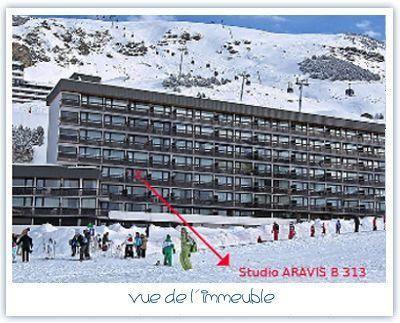 Studio 3 Pers skis aux pieds / ARAVIS 313