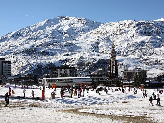 Studio 4 pers ski-in ski-out / ARAVIS R07