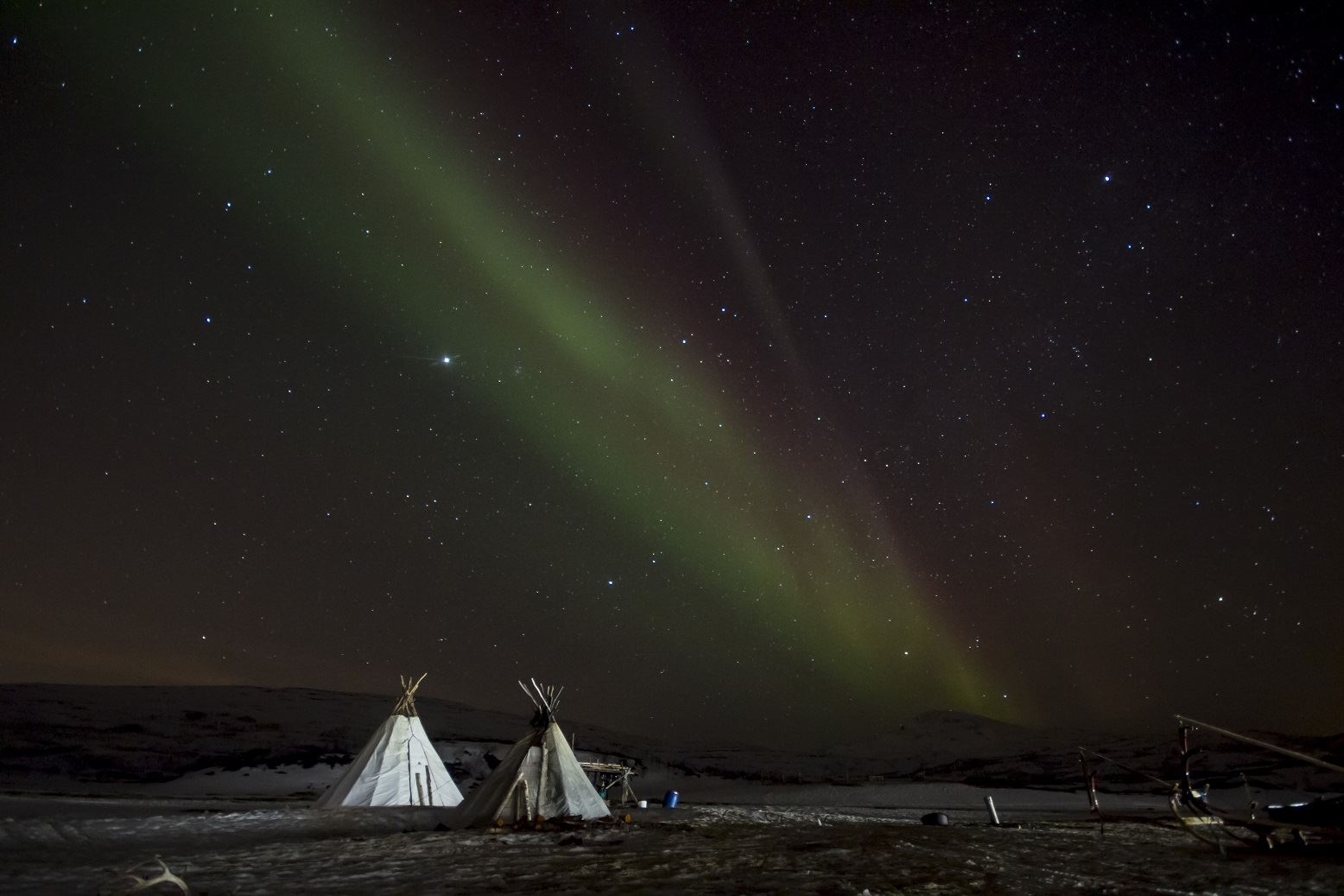 Northern Lights Reindeer Ride – Sami Adventure