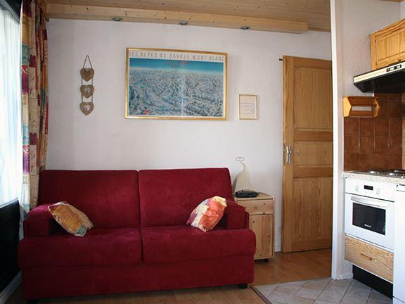 Studio 4 Pers skis aux pieds / GENTIANES 520