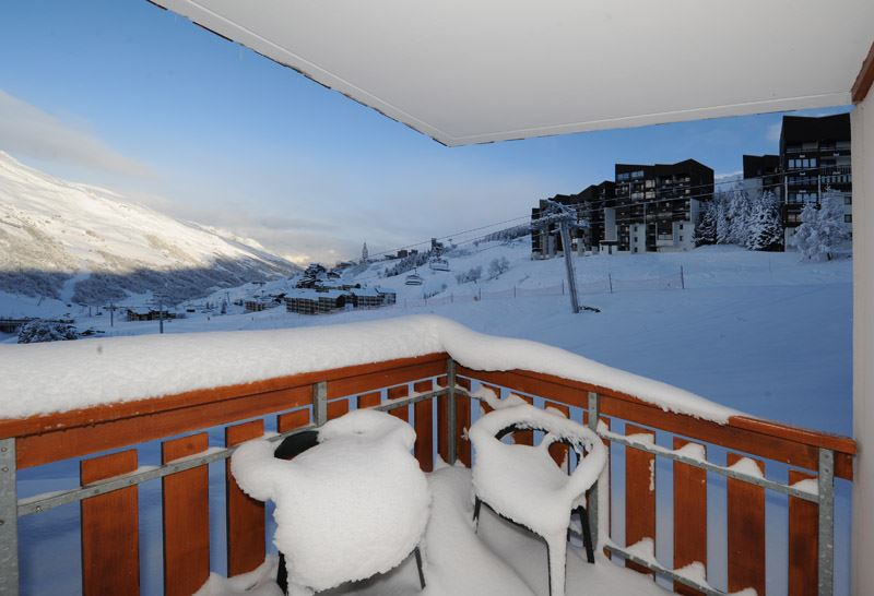 Studio cabine 4 Pers skis aux pieds / SKI SOLEIL 1001