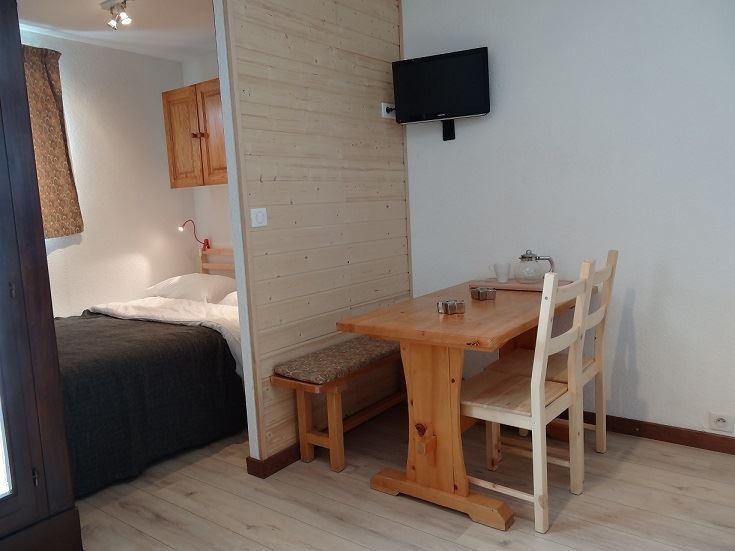 4 Pers Studio Cabin, ski-in ski-out / SKI SOLEIL 1510