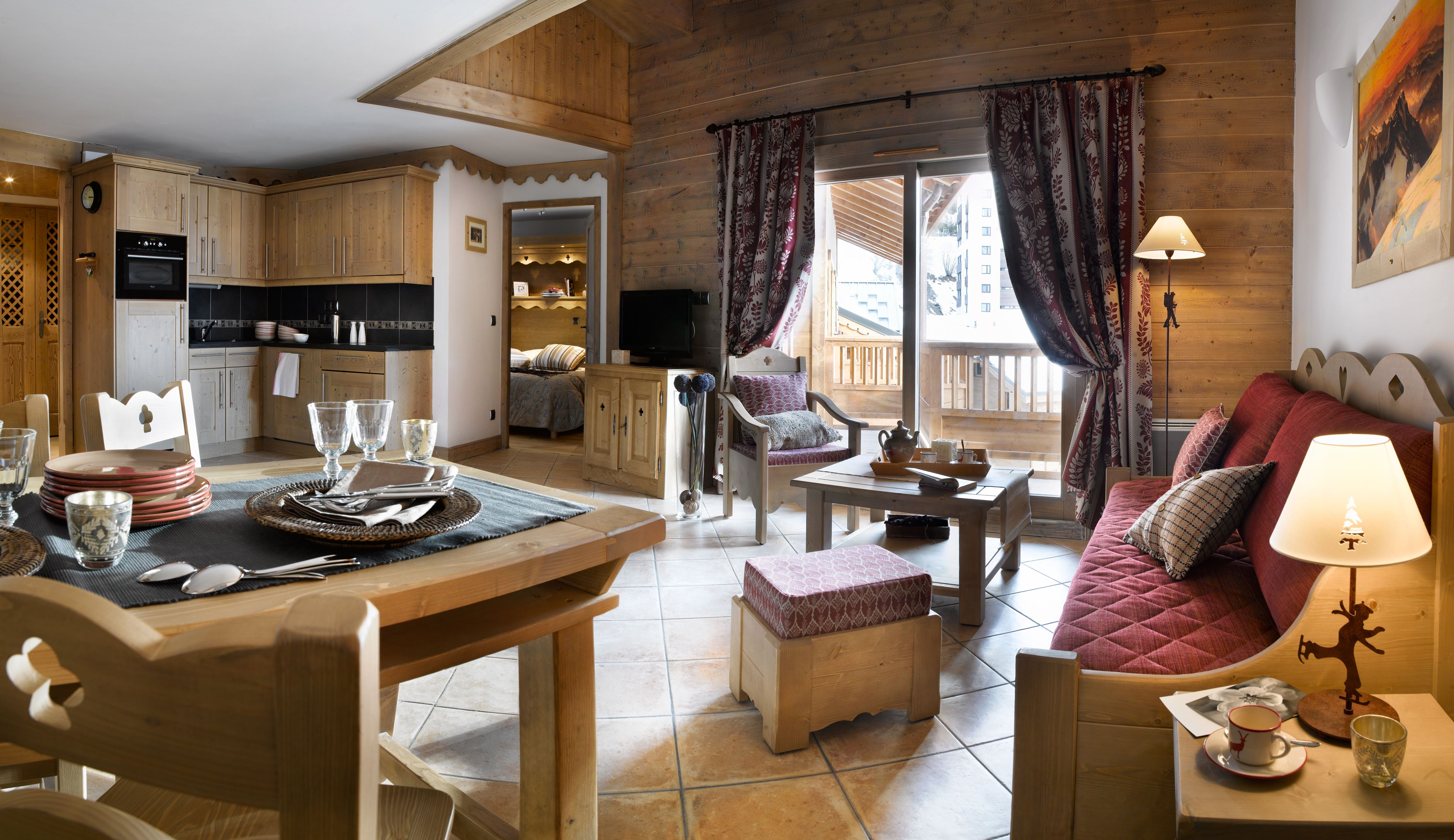 """Résidence at 150m from the slopes /CGH Résidence & Spa LES CLARINES (CGH - 4,5 Snowflakes """"Gold"""")"""