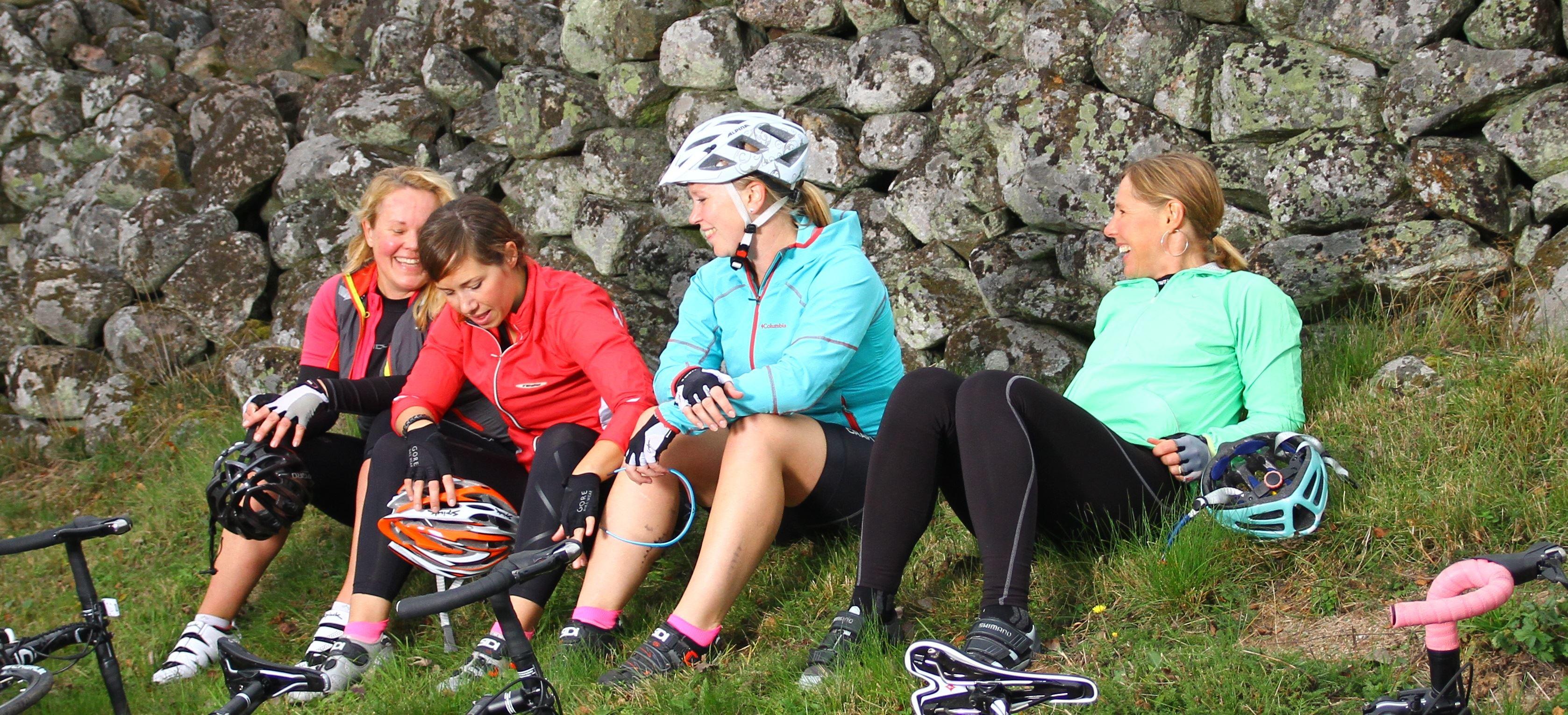 Cykelturen Helgasjön runt, 57 km