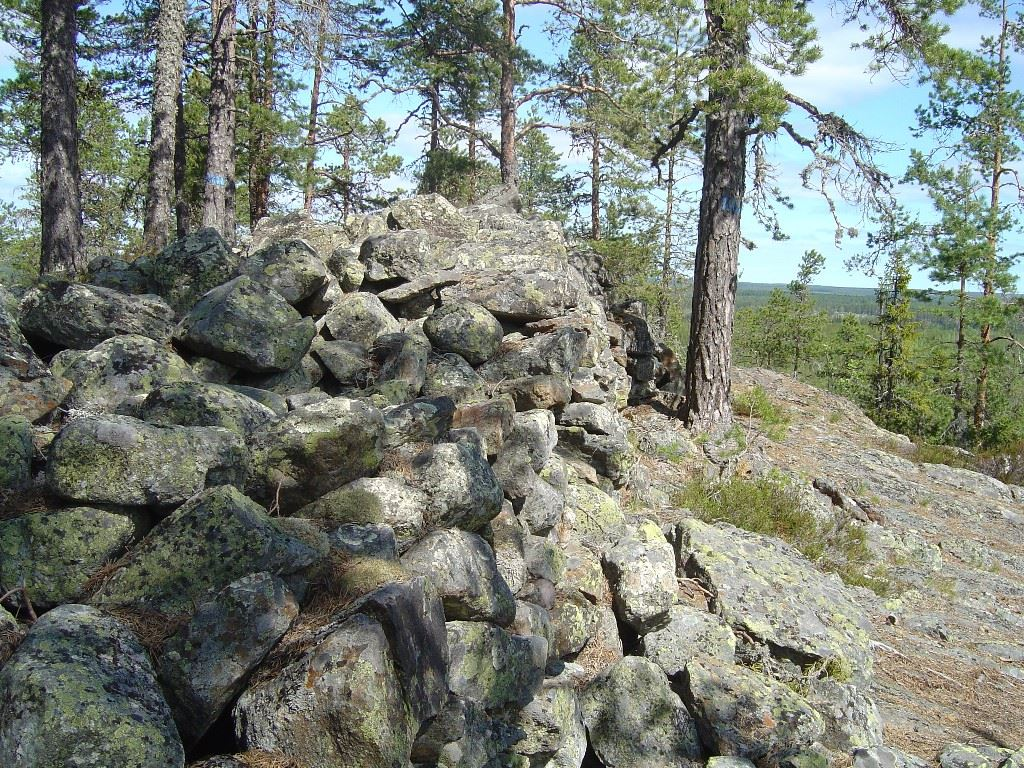 Vettbergets fornborg - Gnarp