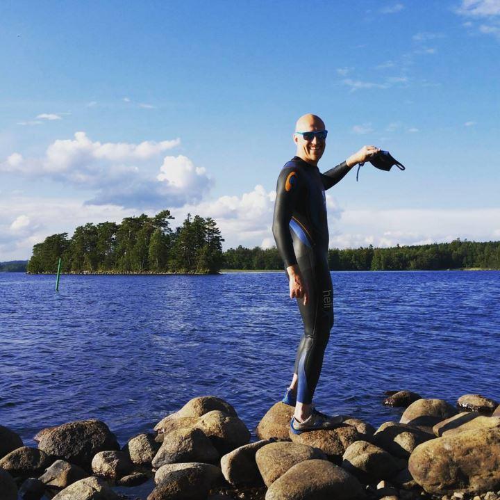 Simning på öppet vatten: Hissö och Musön