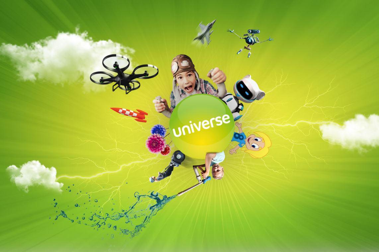 Karten für Universe