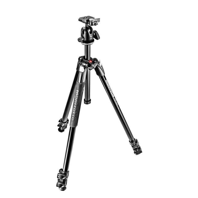 Tripod manfrotto - Lighter Option, models MK290XTA3-BH or MKBFRA4-BH