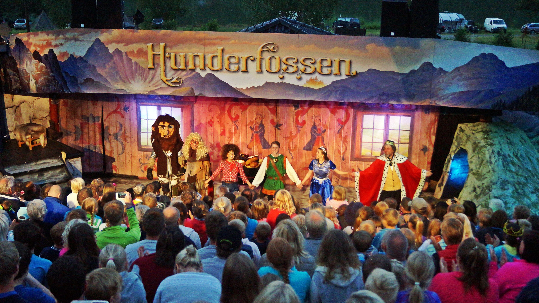 Night with the Trolls at Hunderfossen Family Park