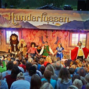 Night with the Trolls at Hunderfossen Family Park