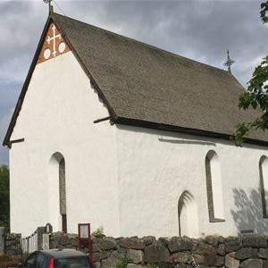 Jörgen Bengtson,  © Jörgen Bengtson, Kyrkovisning, Enångers gamla kyrka, medeltidskyrka Enånger, Hälsingland