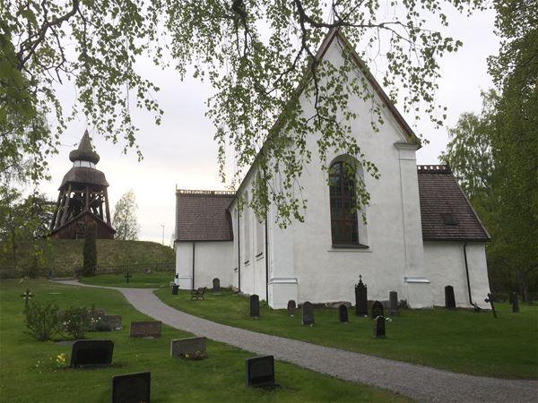 Jörgen Bengtson,  © Jörgen Bengtson, Kyrkovisning, Njutångers kyrka, medeltidskyrka Njutånger, Hälsingland, arrangör Kungsgården Långvind